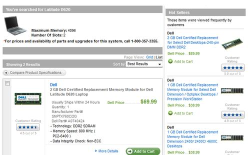 Dell Laptop Memory Upgrade